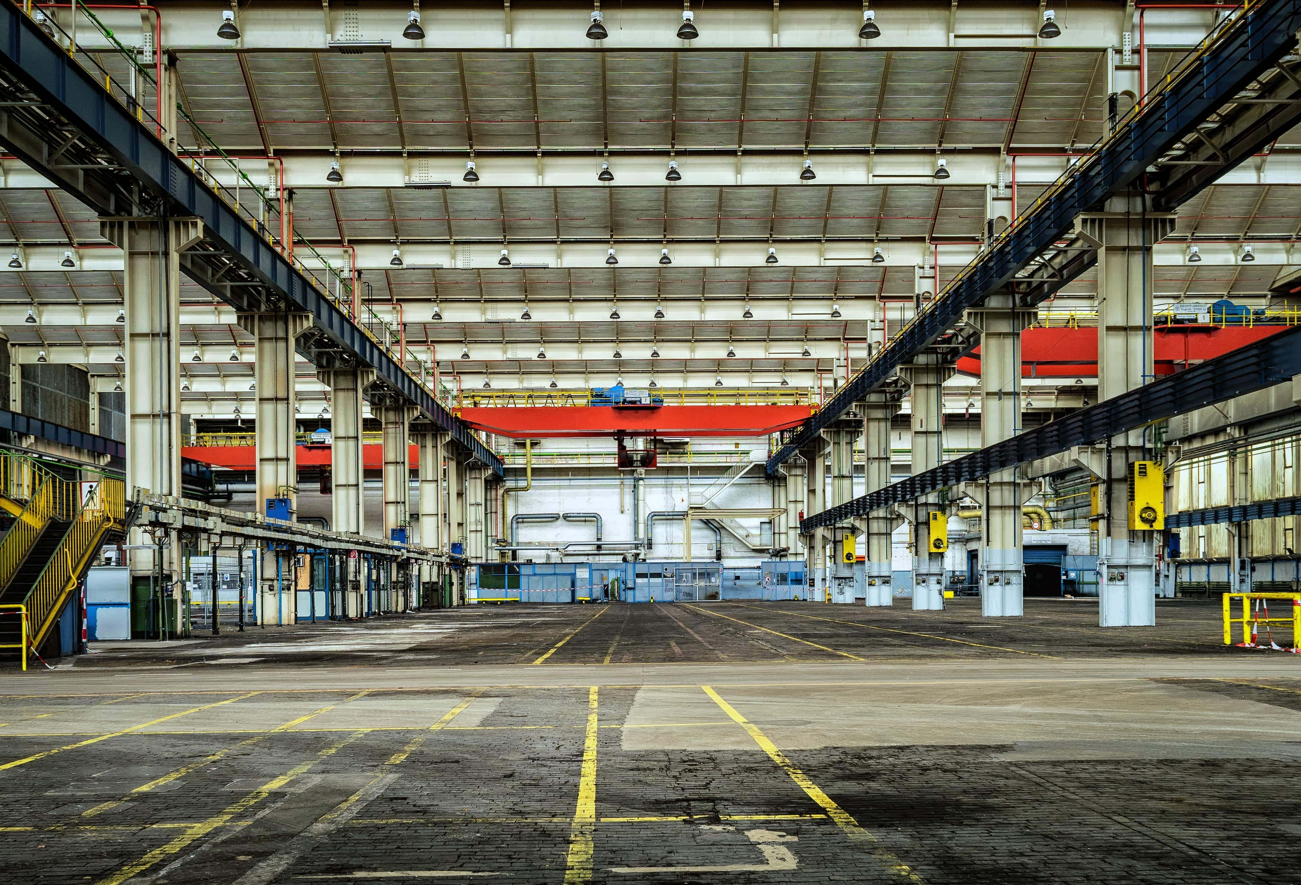 agv robots in warehouse