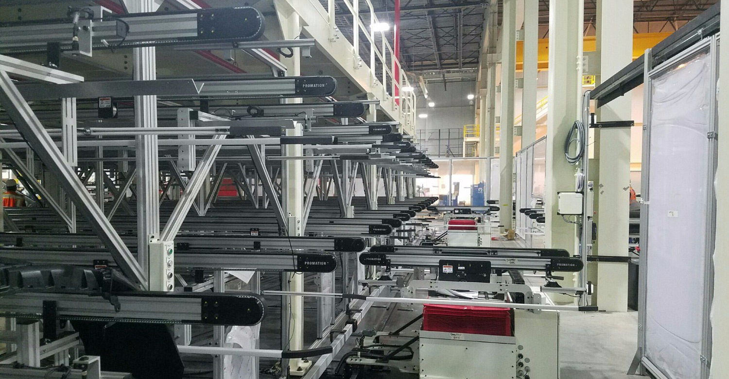 automated material handling(AGV)